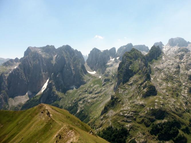 Montañas Albania