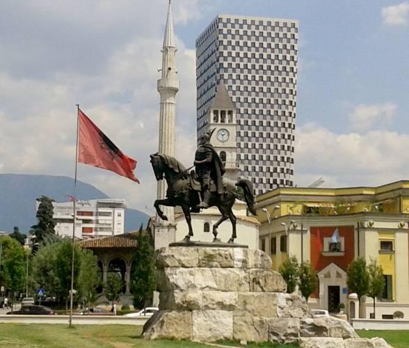 Skanderbeg. Héroe nacional de Albania.
